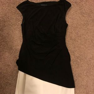 Black and white Ralph Lauren dress